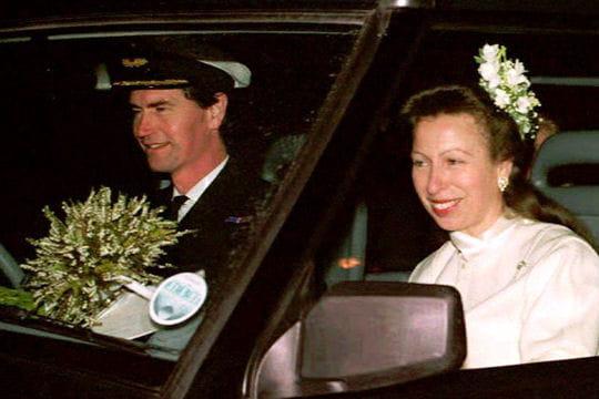 Le deuxième mariage de la Princesse Anne