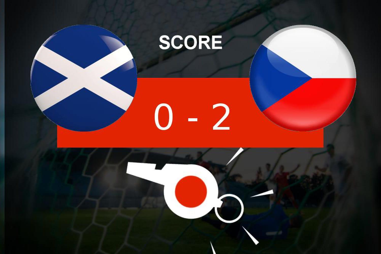 Écosse - République Tchèque: coup dur pour l'Écosse (0- 2), le résumé du match
