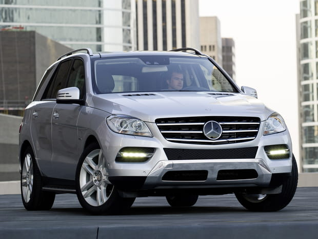 Numéro 42ex aequo: Mercedes Classe M