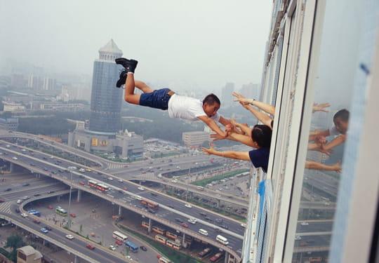 Les acrobaties en apesanteur de Li Wei