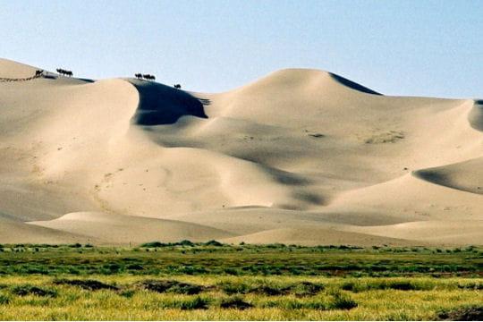 Badain Jaran, Mongolie