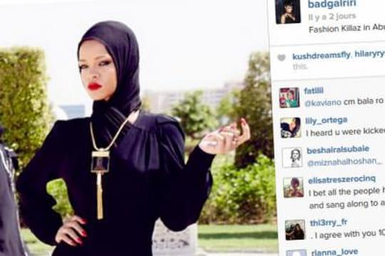 Rihanna: voilée, elle se fait virer d'une mosquée