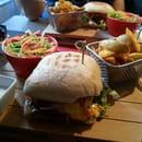 Plat : Le Somail  - Burger Maison du Somail -