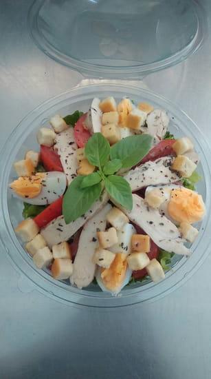 Entrée : Roma Pizza  - Notre salade cesar -