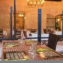 Restaurant : Les Amandiers  - Profitez d'un beau cadre et d'une bonne ambiance -   © Copyright