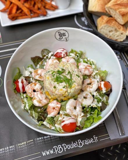 Plat : PB Poulet Braisé  - Salade Océane -   © PB Poulet Braisé®