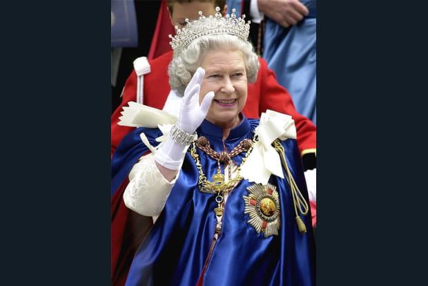 En tenue royale
