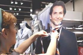 Une Américaine vit avec Bradley Cooper (en carton)