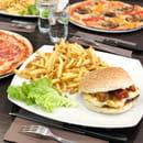 Plat : PizzBurg  - Burger et pizza -   © Jamel