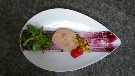 Entrée : O'Délice  - Le foie gras aux mangues -
