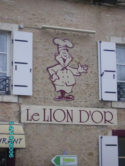 Restaurant du Lion d'Or  - La terrasse, la salle -
