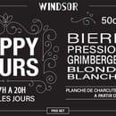 Boisson : Windsor Tapas  - promo -   © windsor