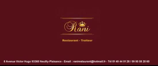 Restaurant : Restaurant Rani