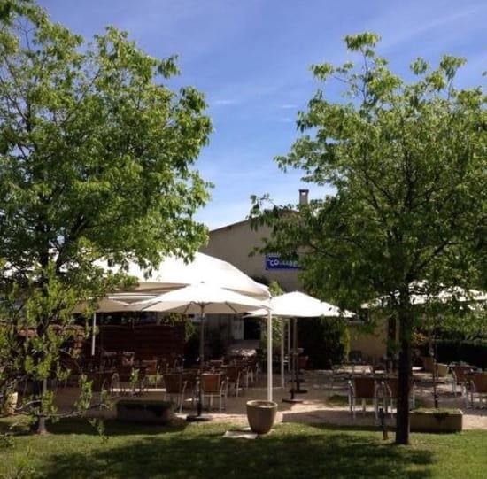 Restaurant : Restaurant les Collines  - La terrasse -