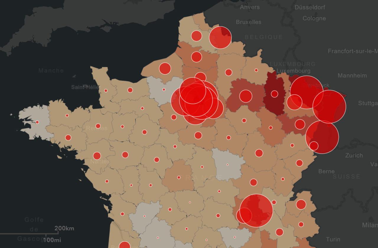 Covid-19en France: les chiffres du coronavirus ce mercredi 1er avril, cas, décès, hospitalisations...