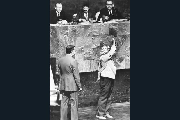 Président d'une séance historique à l'ONU