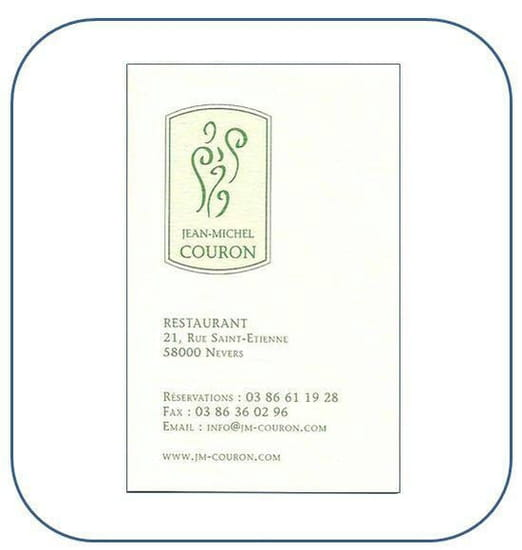 Restaurant : Jean-michel Couron
