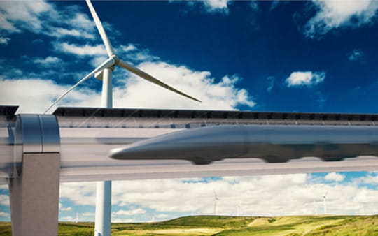 Hyperloop : le train du futur prend forme