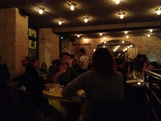 Restaurant : Le Richer  - Très belle salle murs en pierre -