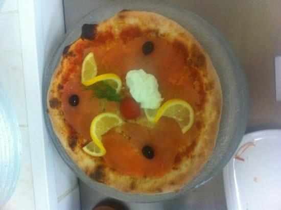 Plat : Roma Pizza  - Pizza saumon -