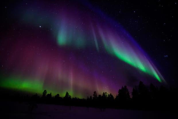La Finlande: le royaume des aurores