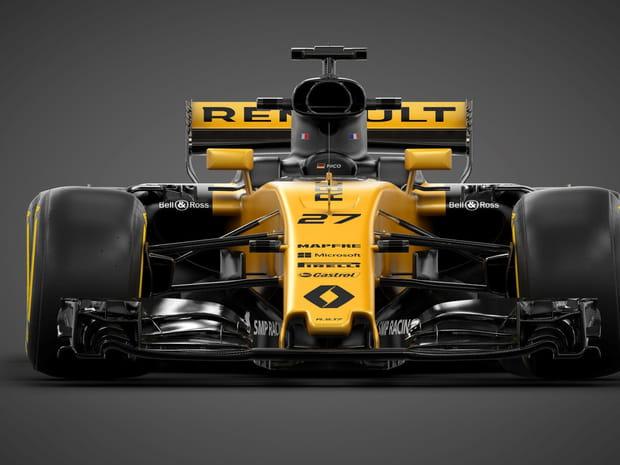 La nouvelle F1Renault RS17en images