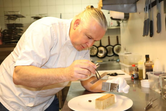Restaurant : Villa Sorriso  - Chef Marc BERNARD -   © COPYRIGHT