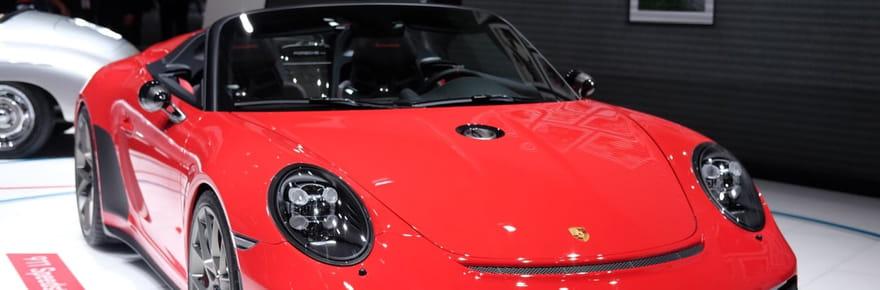La Porsche 911Speedster Concept en images au Mondial de l'Auto