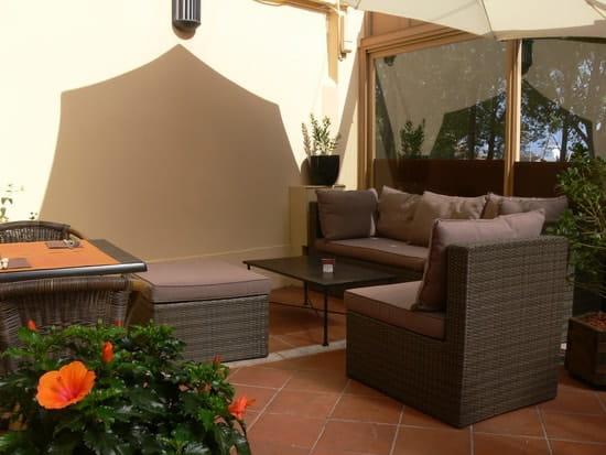 "Bilgola Café  - Le coin ""lounge"" de la terrasse -"