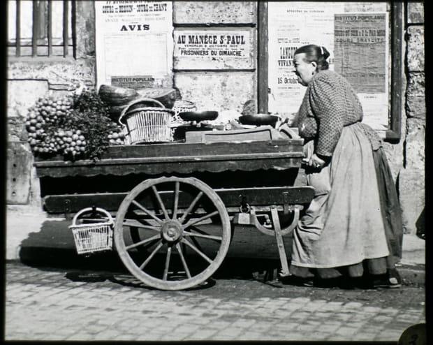 Les petits métiers de Paris dans les années 1900