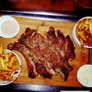Plat : Melie Mel  - Cote de Boeuf Limousine et frites maison -   © Copyright