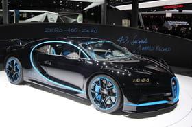 Bugatti Chiron: Karim Benzema craque aussi! [photos]