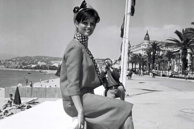 Claudia Cardinale a ses habitudes à Cannes