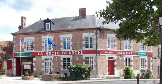 Restaurant : La Croix Blanche de Sologne  - La Croix Blanche de Sologne -   © DR