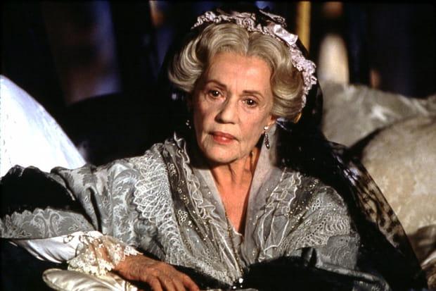 Jeanne Moreau : elle pose un lapin à GeorgeClooney