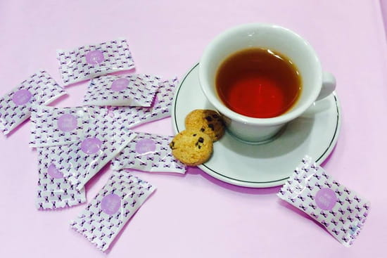 Imperial Coffee  - Thé et cookies -