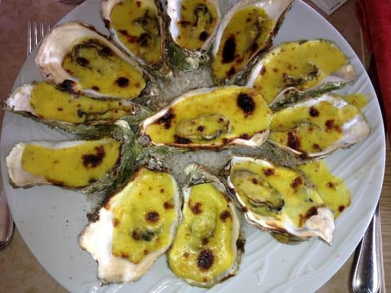 La Gran'Voile  - Les huîtres chaudes au safran  -   © Brigitte