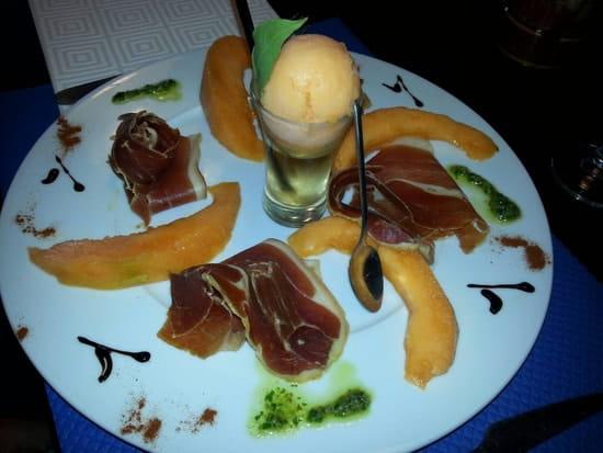 Entrée : Le Somail  - Jambon serrano melon -