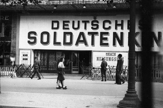 Cinéma réservé aux Allemands