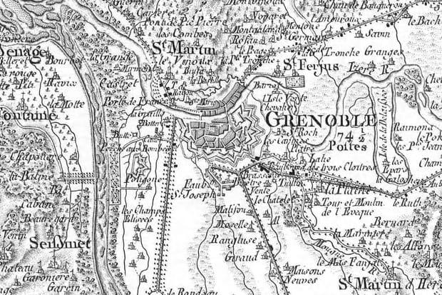 Grenoble au XVIIIe siècle
