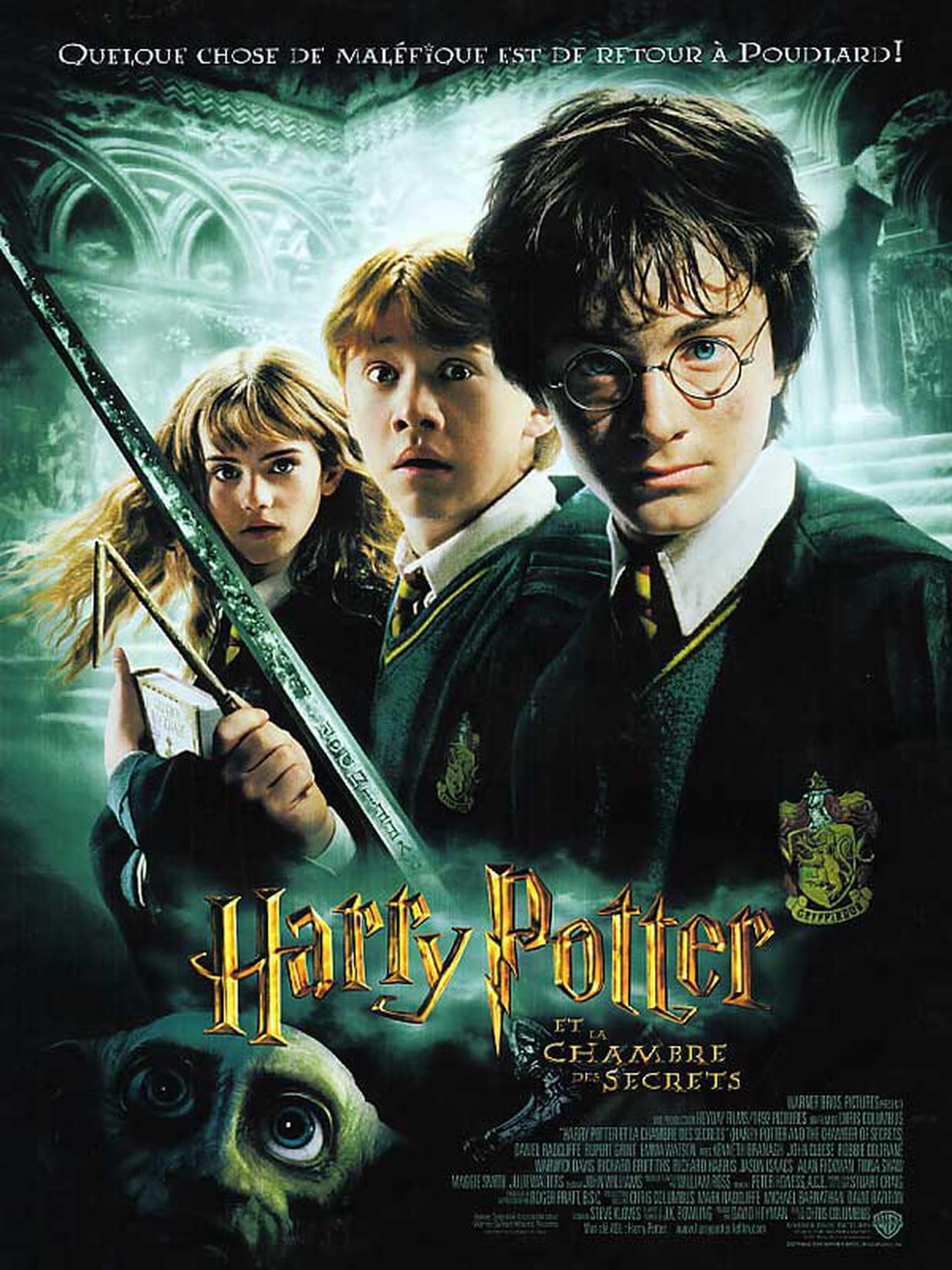 Harry Potter et la chambre des secrets : bande annonce du film