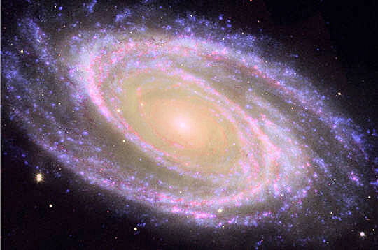 Forme galaxie