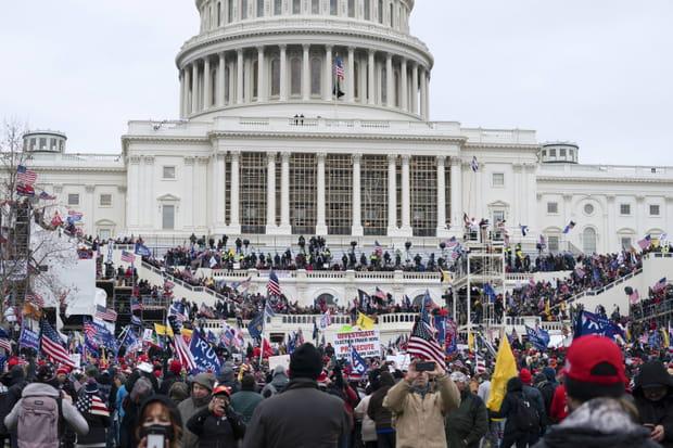 Les images du chaos aux Etats-Unis