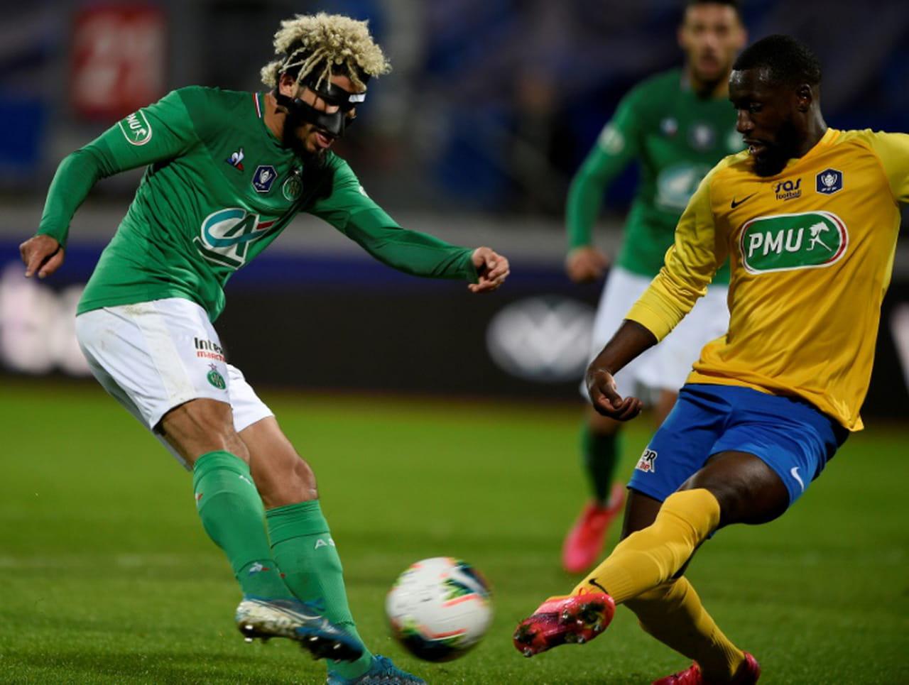 Coupe de France: Saint-Etienne arrache son billet pour les demies, fin du rêve pour Epinal