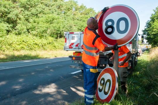 Routes à 80km/h: quelles sont les routes où la vitesse a baissé?