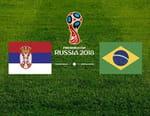 Football - Serbie / Brésil