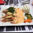 Plat : Le Petit Rest'Eau  - Gambas & calamars -