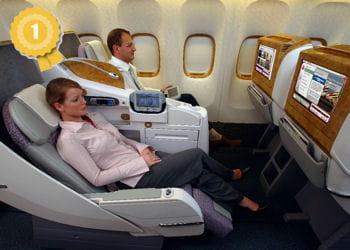 la business class chez emirates