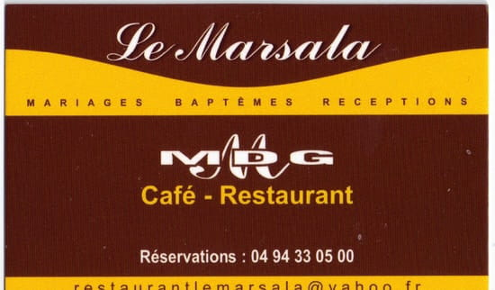 Le Marsala  - Enseigne restaurant -