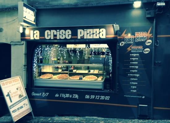 La Crise Pizza  - rue de l'aiguillerie, montpellier -   © la crise pizza